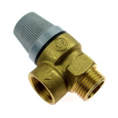 Предохранительный клапан (8 бар.) 1/2 газового котла Hermann Supermaster155200003