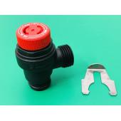 Предохранительный клапан на 3 бара для котлов Ferroli 39818270 - DomiProject, DomiProject D, FerEasy, DomiComp