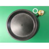 Ремкомплект трехходового Baxi-Westen - мембрана гидравлического переключателя и шпилька (втулка) направляющая в сборе - устанавливается на котлы Luna/Baxi Eco/Westen Star/Westen Energy (5160620)