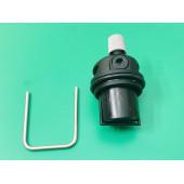 Воздушный клапан пластиковый Beretta артикул R10025485 -устанавливается на котлах Mynute, Exclusive Mix, Exclusiv, Exclusiv Green, City D, Beretta Ciao D