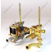 Газо-водяной блок газовых колонок 10л (подсоединение к теплообменнику флянец) артикул 1502