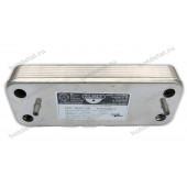 Теплообменник Baxi Westen вторичный Zilmet 17B2071200 12 пластин. Весь модельный ряд