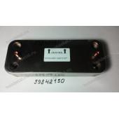 Теплообменник вторичный (скоростной) Ferroli Divatech C24D/F24D 10 пластин (39842130) - Спецификация: SWEP E5ASX10 Art 18195