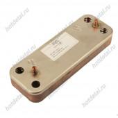 Теплообменник Baxi/Westen вторичный ГВС 10 пластин (5686660) BAXI ECO 3 COMPACT / WESTEN PULSAR, BAXI ECO / WESTEN ENERGY, BAXI LUNA / WESTEN STAR