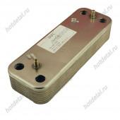 Теплообменник Baxi/Westen вторичный ГВС 14 пластин (5686680) BAXI ECO 3 COMPACT / WESTEN PULSAR, BAXI ECO / WESTEN ENERGY, BAXI LUNA / WESTEN STAR