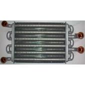 Теплообменник битермический QUASAR D   Mainfour турбированные версии артикул 5700520 - длина 225мм, ширина 180мм.