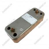 Теплообменник вторичный ARISTON CLASS-GENUS-BS (16 пластин) артикул 65104333