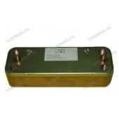 Теплообменник Ariston MICROGENUS 30kw вторичный (ГВС) 998483 16 пластин