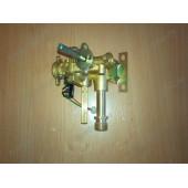 Газоводяной редуктор подсоединение к теплообменнику резьба, фланец подсоединения к газовому блоку 42 мм (B1201)