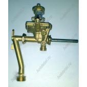 Водяной узел (гидроблок) китайских газовых колонок (подсоединение резьба к теплообменнику) B1203