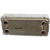 Теплообменник ГВС Beretta CITY, Super Exclusive CAI/CSI, Mynite 28 кВт R8037+Теплоизоляция из полистирола (для снижения тепловых потерь)